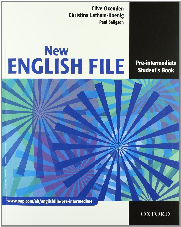NEW ENGLISH FILE PRE-INTERMEDIATE STUDENT'S BOOK (A2-B1)<br>УЧЕБНИК ПО АНГЛИЙСКИ ЕЗИК