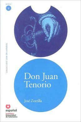 Don Juan Tenorio - Адаптирана книга на испански език за ниво А2 с аудио диск