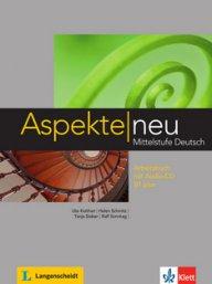 Aspekte neu B1 plus Arbeitsbuch 1 + Audio-CD.Учебна тетрадка по немски език за ниво В1+ с aудио CD.