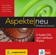Aspekte neu B1 plus Audio-CDs.Аудио дискове към учебника по немски език Aspekte neu B1+.