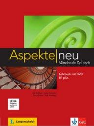 Aspekte neu B1 plus Lehrbuch 1 mit DVD.Учебник по немски език за ниво В1+ с DVD