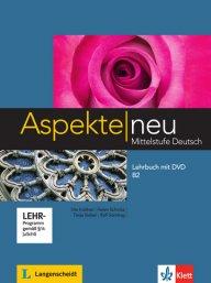 Aspekte neu B2 Lehrbuch mit DVD. Учебник по немски език за ниво В2 с DVD.