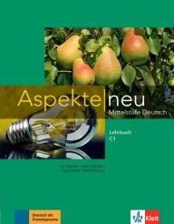 Aspekte neu C1 Lehrbuch. учебник по немски език за ниво С1.