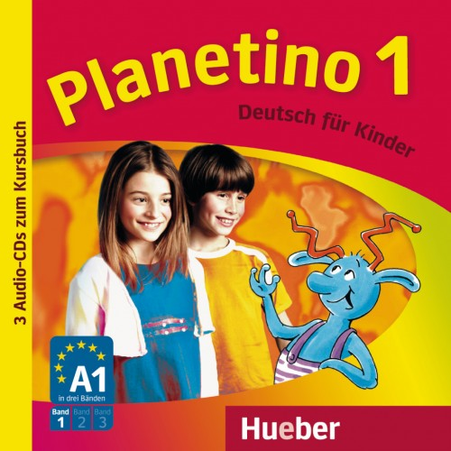Planetino 1 -3 Audio-CDs zum Kursbuch