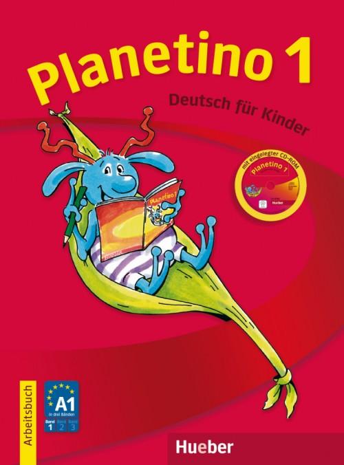 Planetino 1 Arbeitsbuch mit CD-ROM.Учебна тетрадка по немски език за 2 клас.Ниво А1.