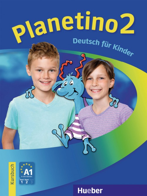Planetino 2 Kursbuch.Учебник по немски език за 3 клас.Ниво А1