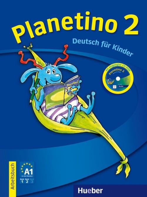 Planetino 2 Arbeitsbuch mit CD-ROM.Учебна тетрадка по немски език за 3 клас.Ниво А1.