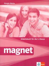 Magnet - Arbeitsbuch fur die 5.Klasse.Учебна тетрадка по немски език за 5 клас.