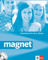 Magnet - Arbeitsbuch fur die 6.Klasse.Учебна тетрадка по немски език за 6 клас.