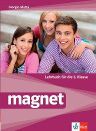 Magnet - Lehrbuch fur die 5.Klasse. Учебник по немски за 5 клас
