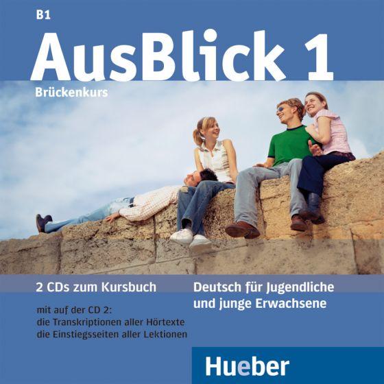 AusBlick 1. 2 Audio-CDs zum Kursbuch.Аудиодискове към учебника.