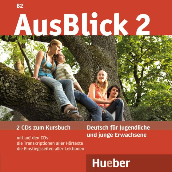 AusBlick 2 2 Audio-CDs zum Kursbuch.Аудиодискове към учебника.