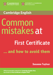 Common Mistakes at ... and how to avoid them