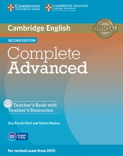 Complete Advanced Second Edition Teacher's Book + CD-ROM- Учебник за учителя