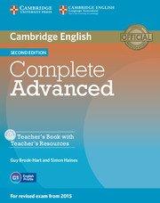 Complete Advanced Second Edition Teacher's Book + CD-ROM- Учебник за учителя