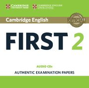 Cambridge First Certificate in English Practice Tests (NEW edition for revised exam 2015) FCE 2 NEW Audio CDs (2)