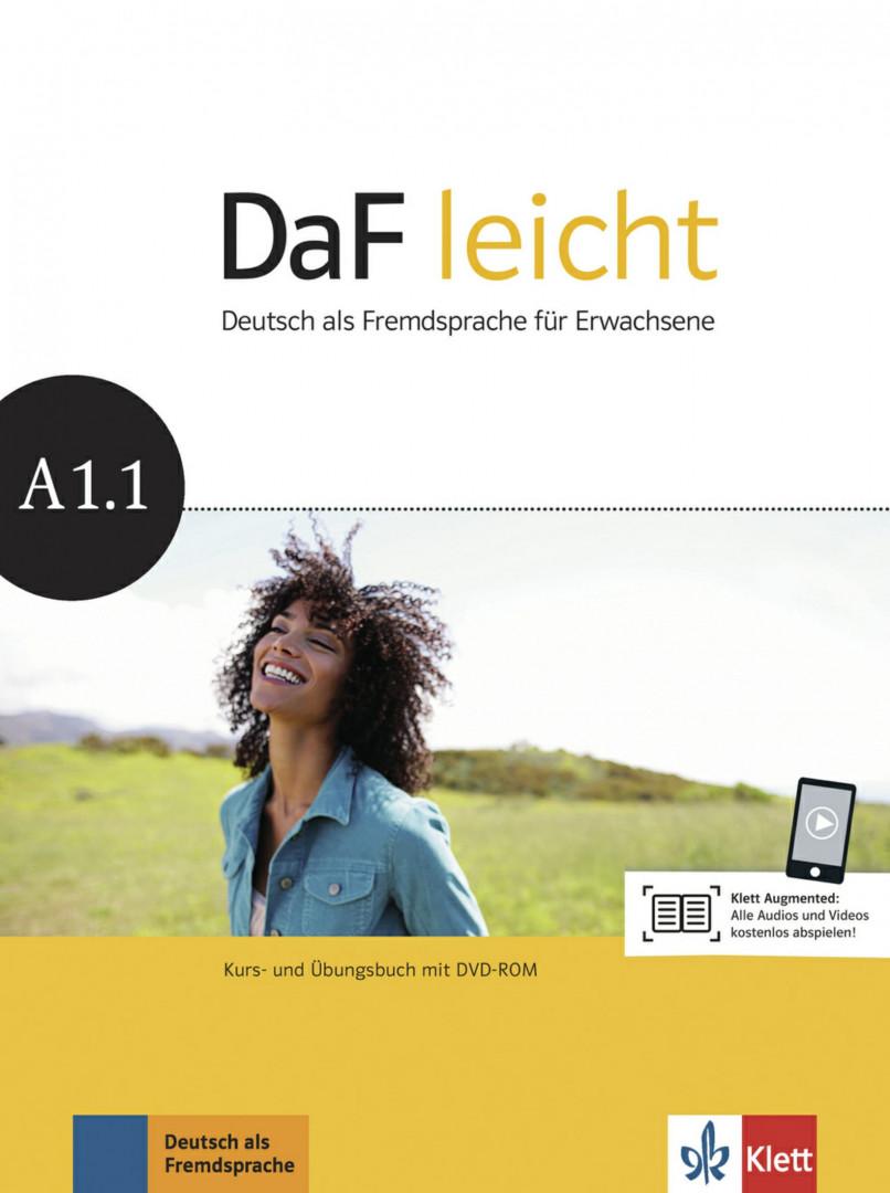 DaF Leicht A1.1 Kurs- und Übungsbuch mit DVD-ROM