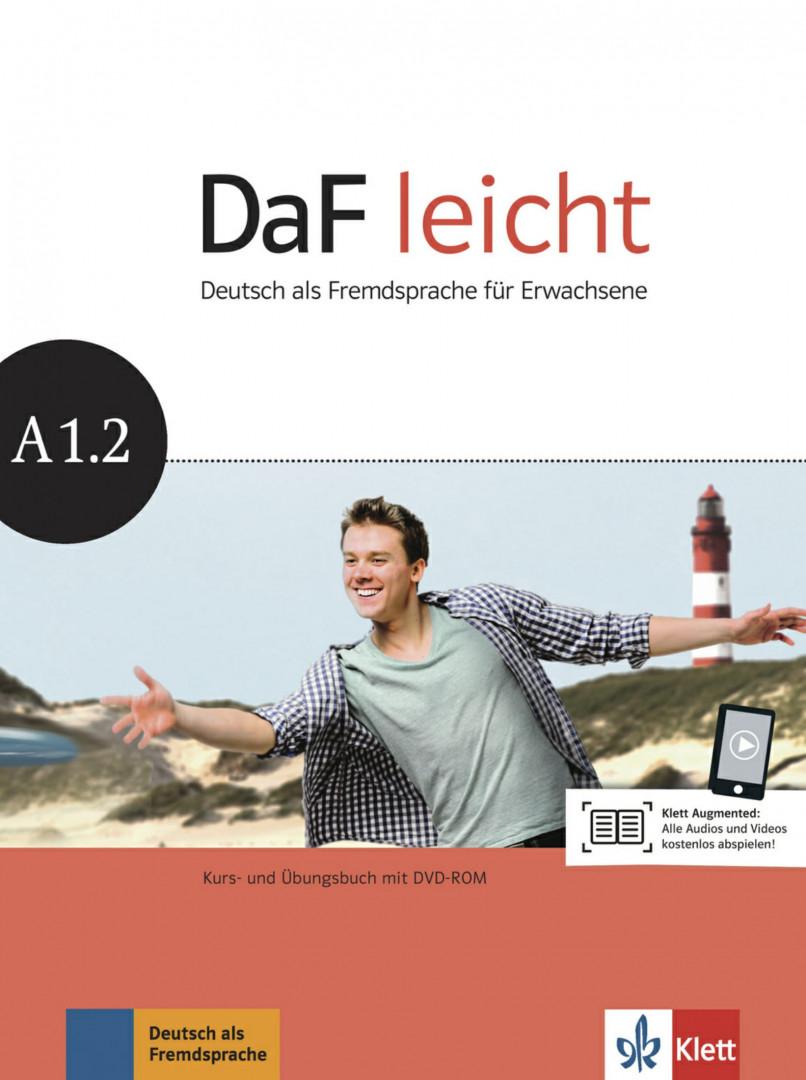 DaF Leicht A1.2 Kurs- und Übungsbuch mit DVD-ROM