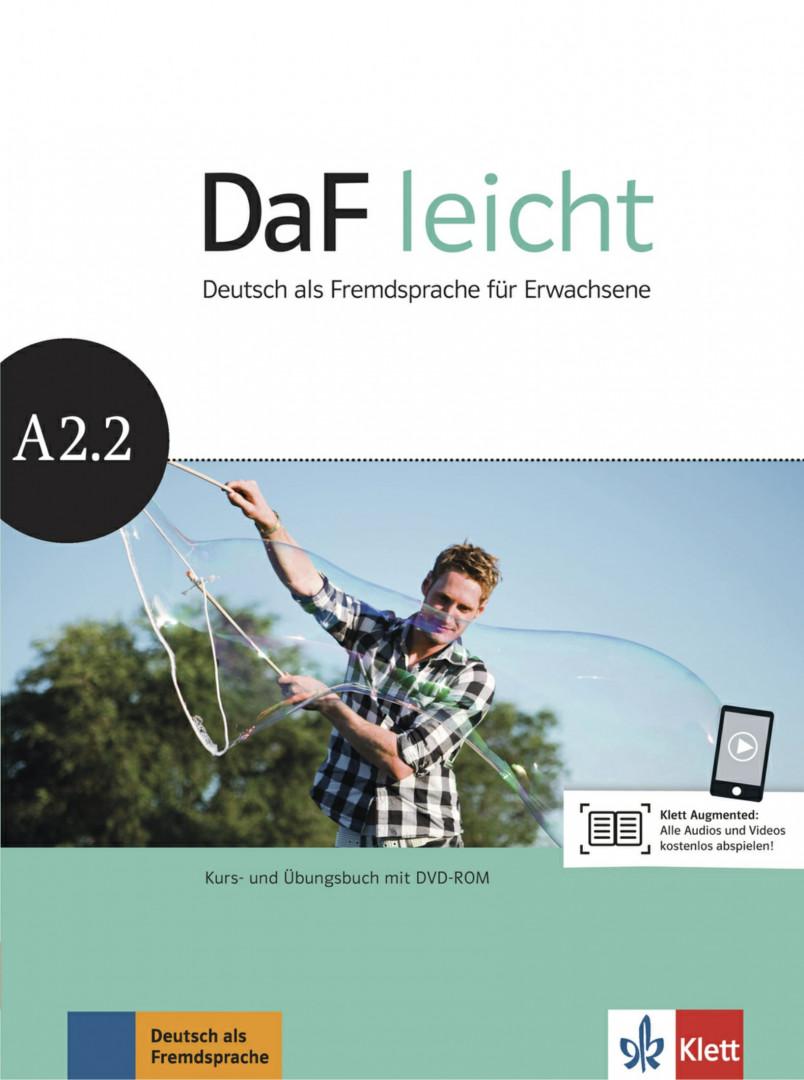 DaF Leicht A2.2 Kurs- und Übungsbuch mit DVD-ROM