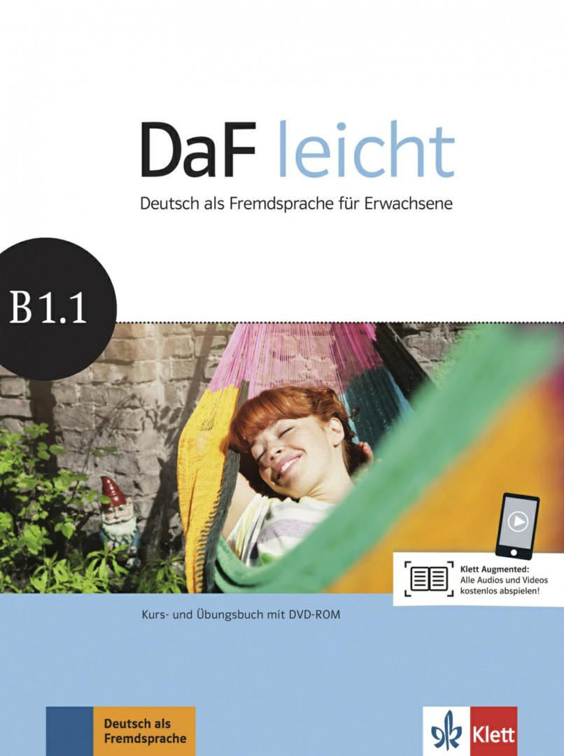 DaF Leicht B1.1 Kurs- und Übungsbuch mit DVD-ROM