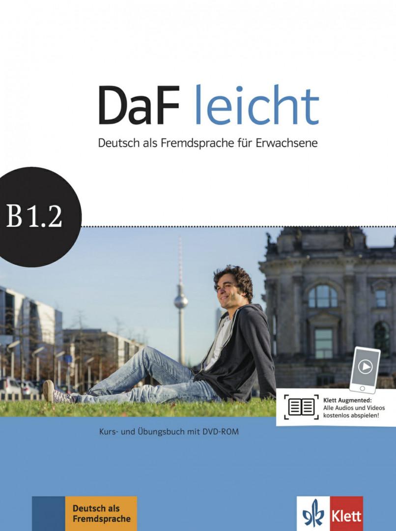 DaF Leicht B1.2 Kurs- und Übungsbuch mit DVD-ROM