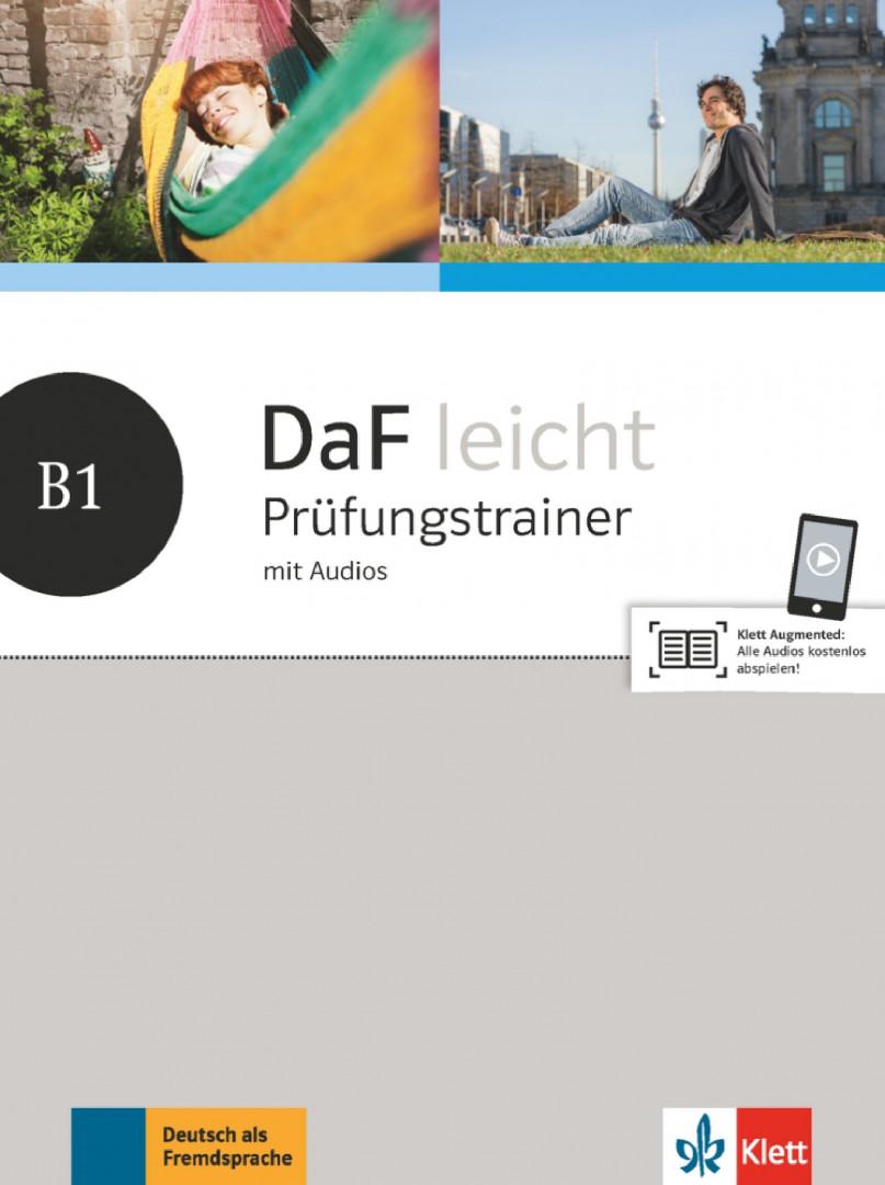 DaF Leicht B1 Prufungstrainer mit Audios