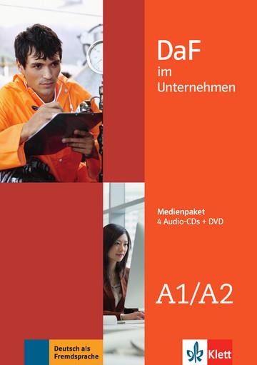DaF im Unternehmen A1-A2 Medienpaket (4 Audio-CDs mit DVD)