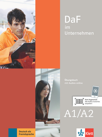 Учебна тетрадка по немски език DaF im Unternehmen A1-A2 Übungsbuch mit Audios online