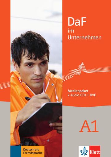 DaF im Unternehmen A1 Medienpaket (2 Audio-CDs + DVD)