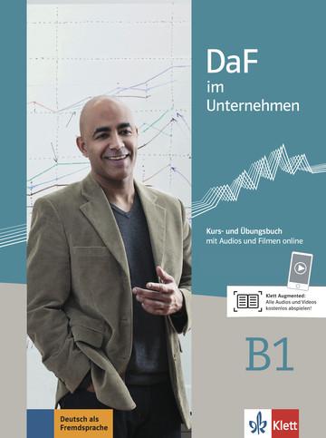 Учебник по немски език DaF im Unternehmen B1 Kurs- und Übungsbuch mit Audios und Filmen online