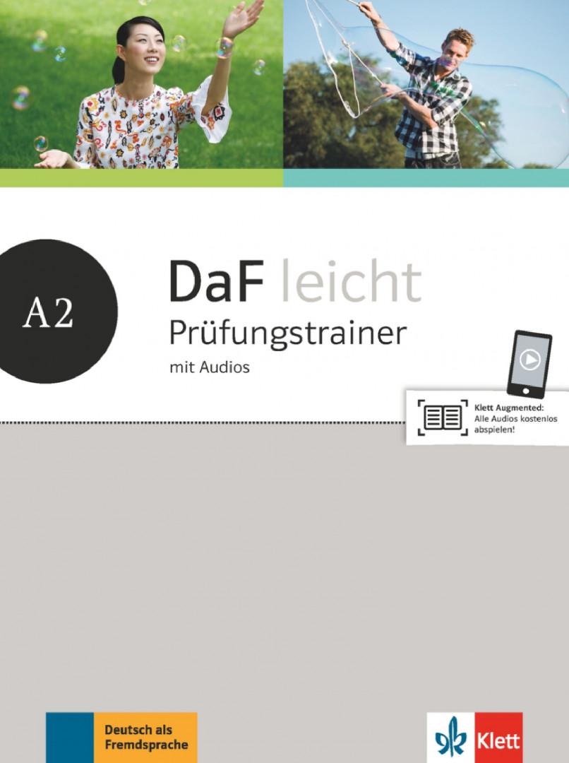 DaF leicht A2 Prufungstrainer mit Audios