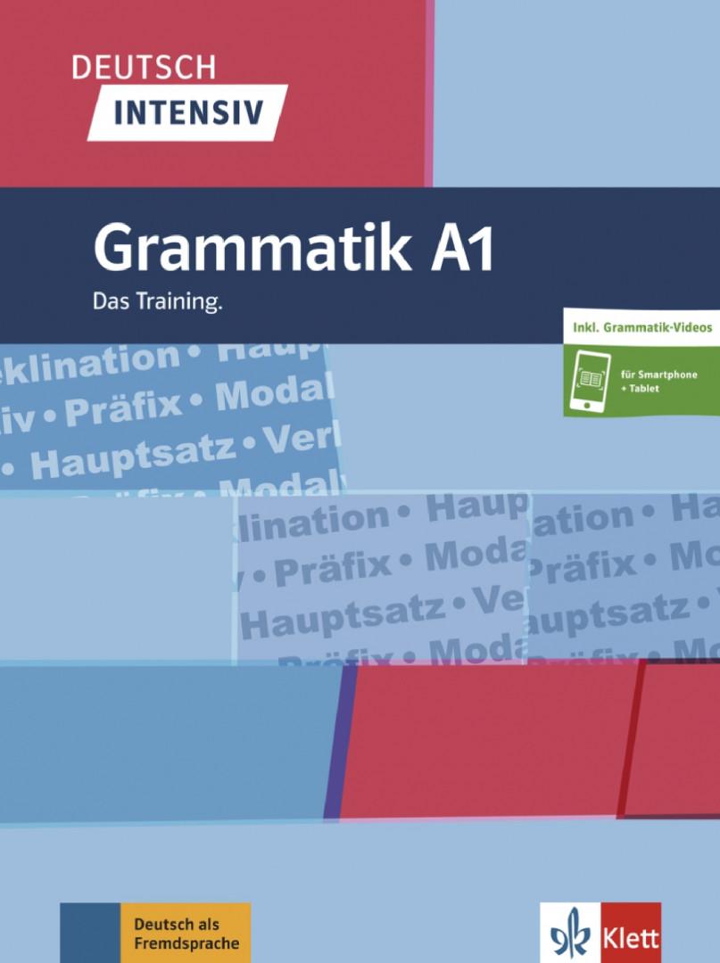 Deutsch intensiv Grammatik A1.Das Training. Buch + online