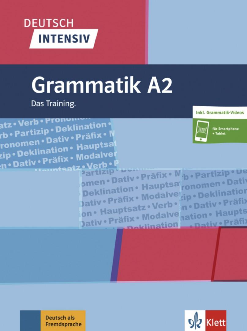Deutsch intensiv Grammatik A2 .Das Training. Buch + online