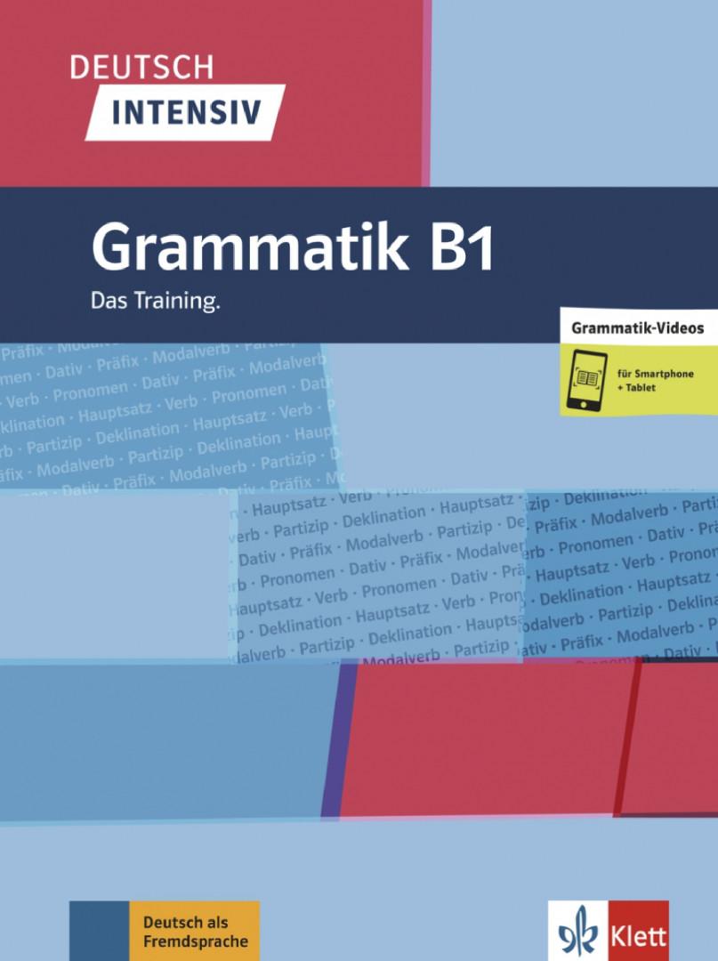Deutsch intensiv Grammatik B1 Das Training. Buch + online