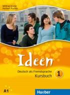 Ideen 1 Kursbuch. Учебник по немски език.