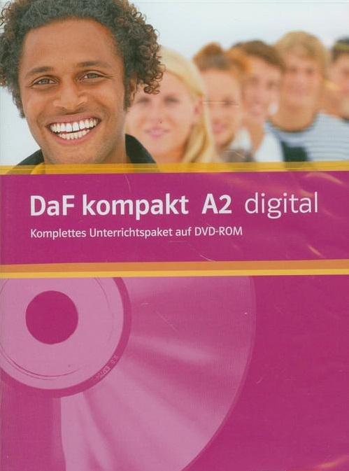 DaF kompakt - Niveau 2 Interaktives DVD-ROM - Интерактивен пакт по немски език за ниво А2