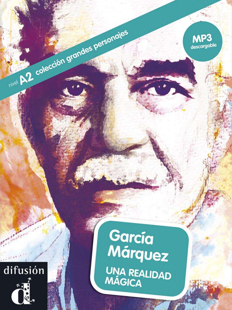 GRANDES PERSONAJES García Márquez. Libro + MP3 desc. A2