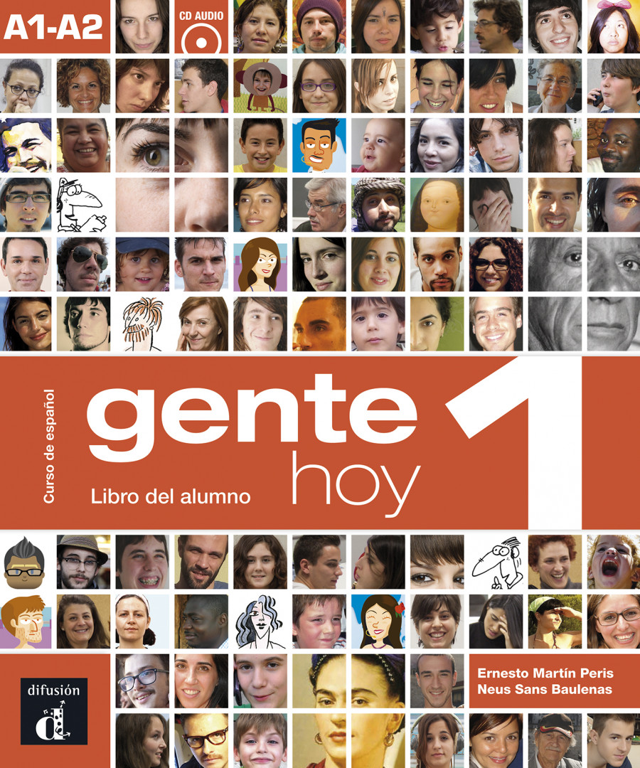 Gente hoy 1 · Nivel A1-A2 Libro del alumno + CD