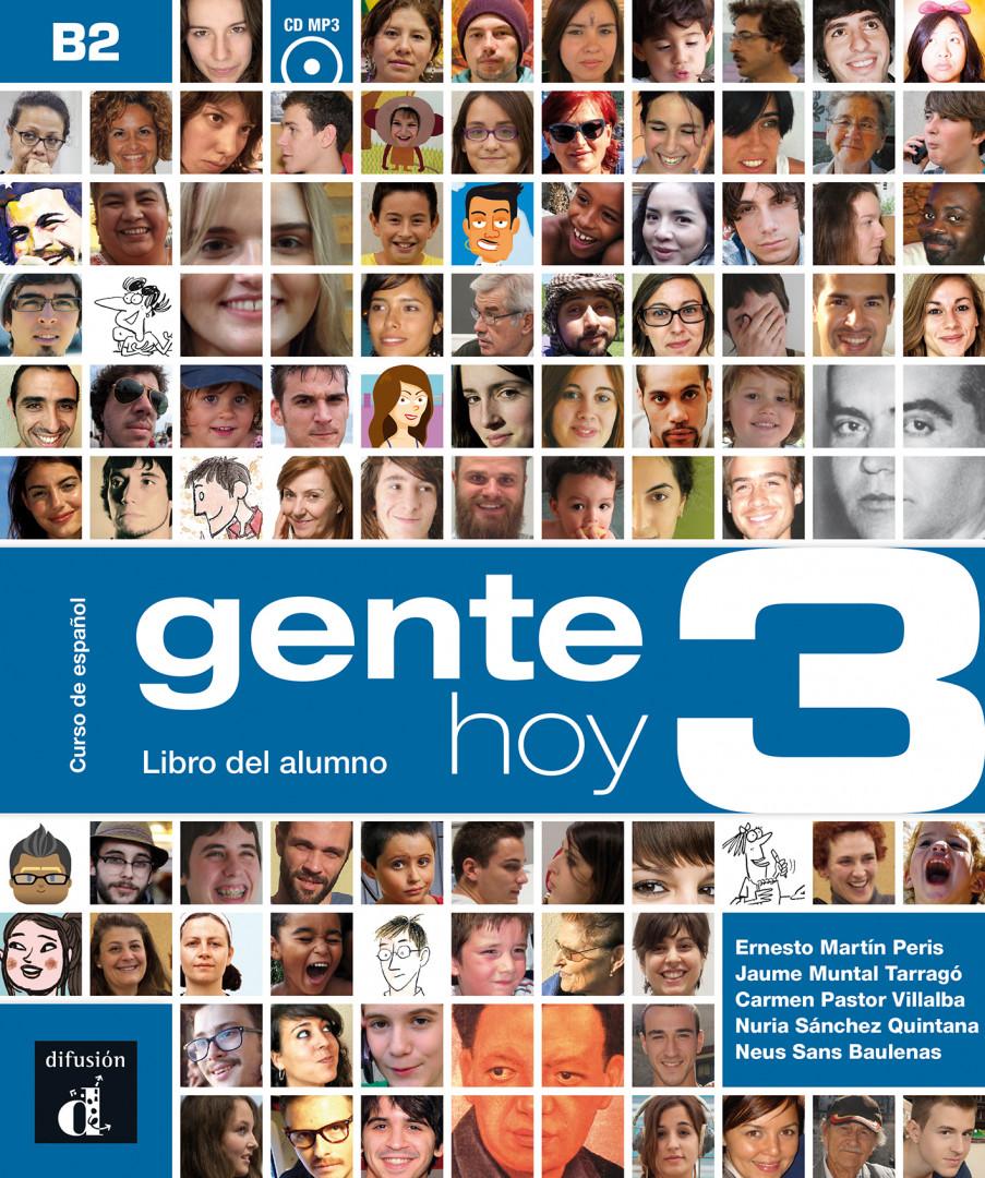 Gente hoy 3 · Nivel B2 Libro del alumno + CD