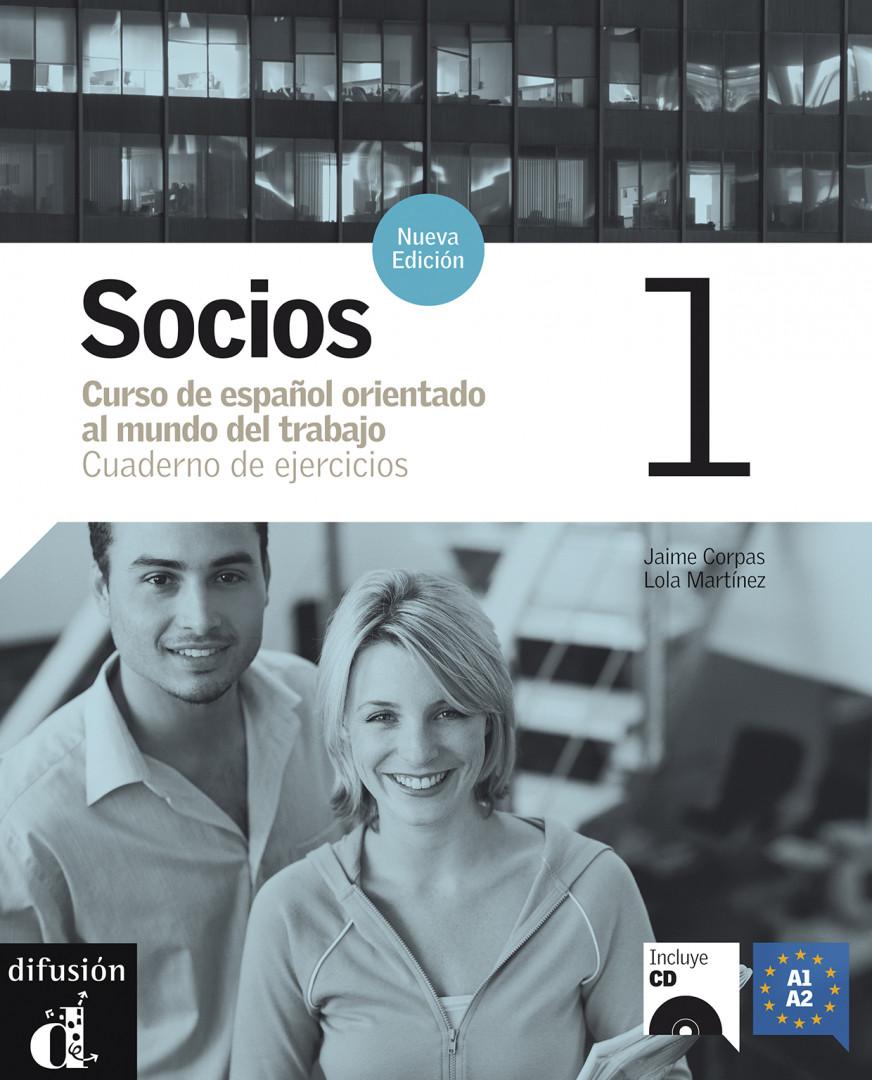 Socios 1 · Nivel A1-A2 Cuaderno de ejercicios + CD