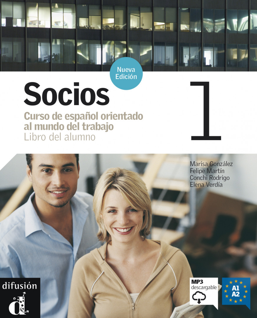 Socios 1 · Nivel A1-A2 Libro del alumno + MP3 descargable