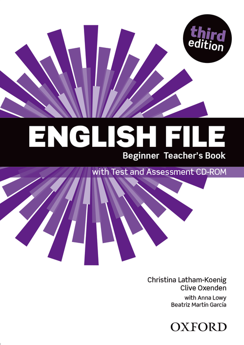 Ръководство за учителя по английски език:English File Beginner Teacher\'s Book with Test and Assessment CD-ROM