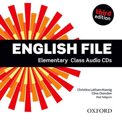Аудио дискове English File Elementary Class Audio CDs Third Edition