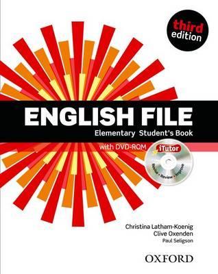 Учебник по английски език: English File Elementary (3rd Edition) Student\'s Book with iTutor DVD-ROM
