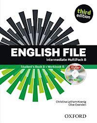 English File third edition Intermediate MultiPACK B with iTutor and iChecker. Учебник и тетрадка по английски език 6-10 урок.
