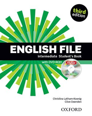 Учебник по английски език: English File Intermediate (3rd Edition) Student\'s Book with iTutor DVD-ROM