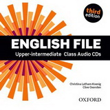 Аудио дискове English File Upper-intermediate Class Audio CDs Third Edition