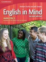 English in Mind Second Edition Level 1 Audio CDs (3)- Аудио дискове към учебника по английски език