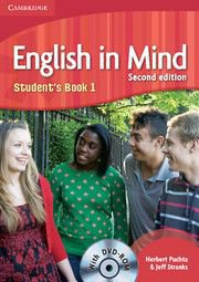 English in Mind Second Edition Level 1 Student\'s Book with DVD-ROM - Учебник по английски език с DVD-ROM