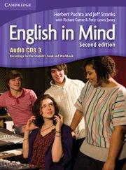 English in Mind Second Edition Level 3 Audio CDs (3)- Аудио дискове към учебника по английски език